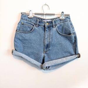 Zara high rise mom shorts